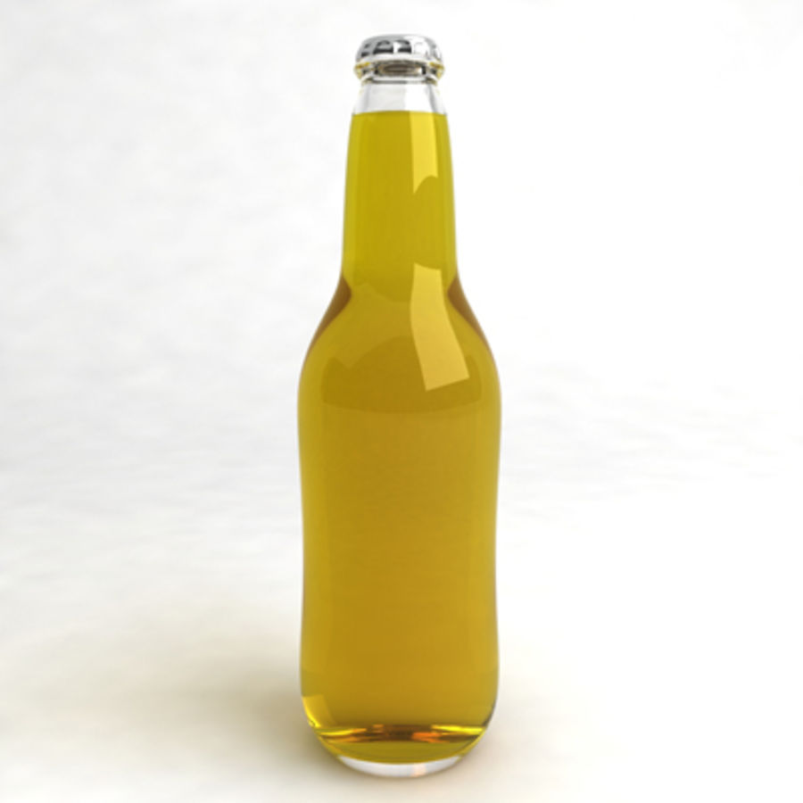 Beer Bottle 5 royalty-free 3d model - Preview no. 2