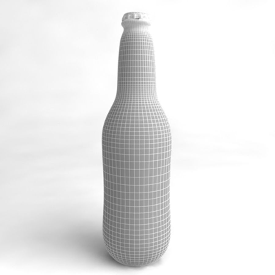 Beer Bottle 5 royalty-free 3d model - Preview no. 5