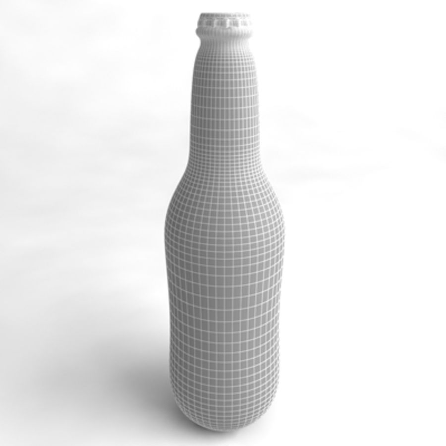 Beer Bottle 5 royalty-free 3d model - Preview no. 4