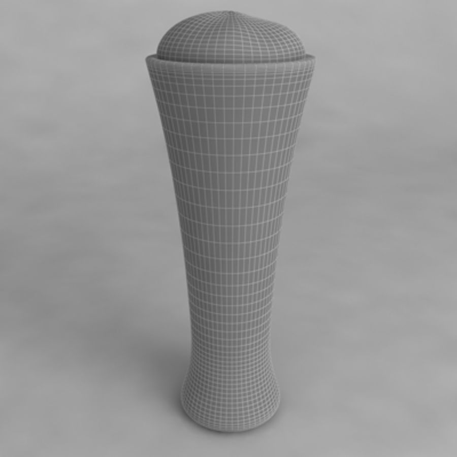 Beer Glass_07 royalty-free 3d model - Preview no. 4