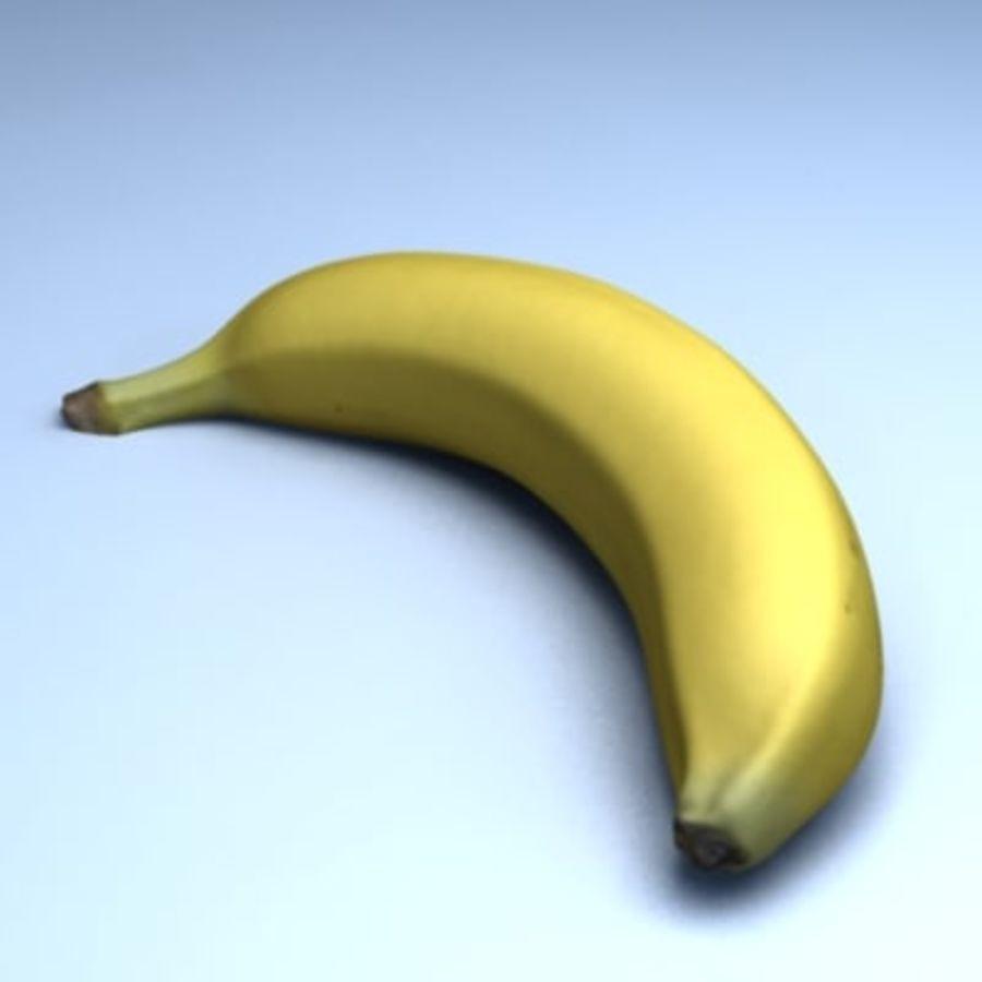 Banana (High Res) royalty-free 3d model - Preview no. 6