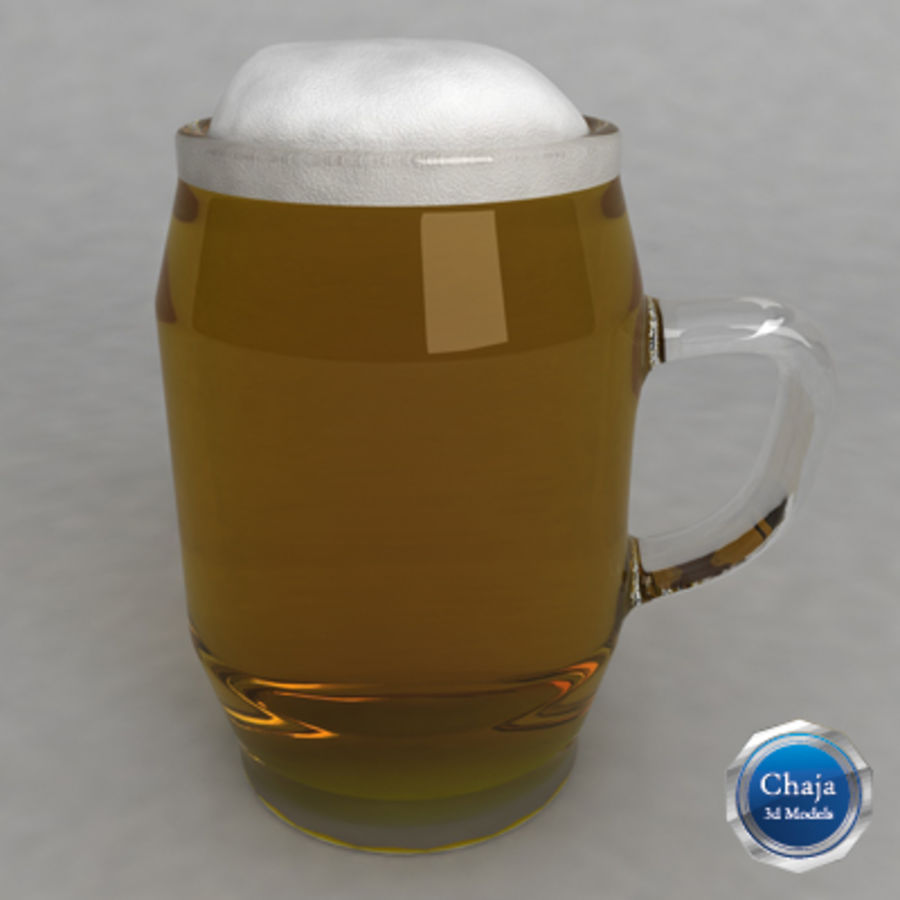 Beer Glass_10 royalty-free 3d model - Preview no. 1