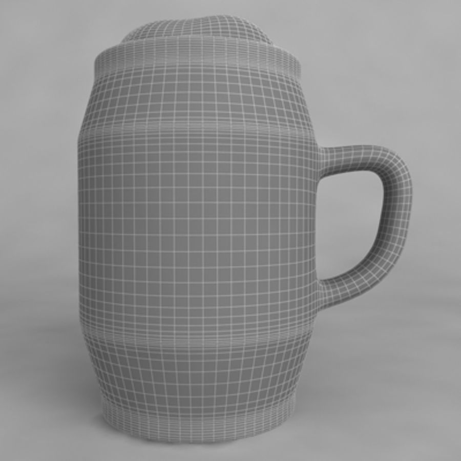 Beer Glass_10 royalty-free 3d model - Preview no. 6