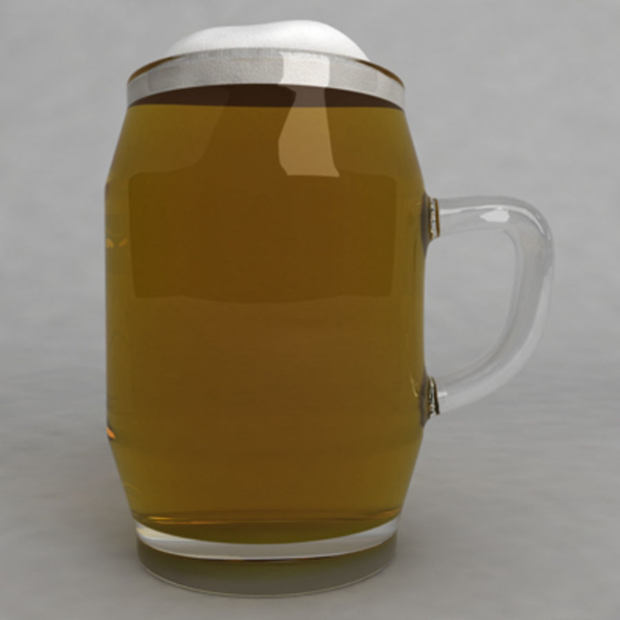 Beer Glass_10 royalty-free 3d model - Preview no. 3