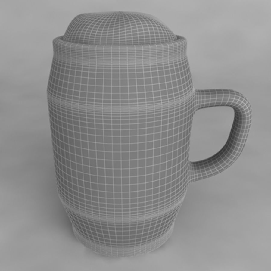 Beer Glass_10 royalty-free 3d model - Preview no. 4