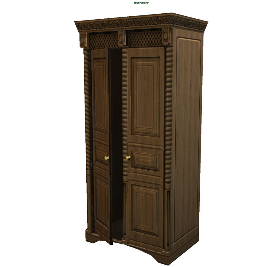 Cabinet royalty-free 3d model - Preview no. 1