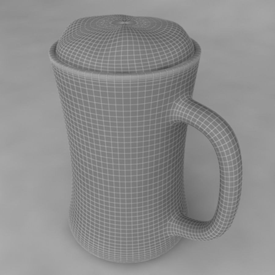 Beer Glass_09 royalty-free 3d model - Preview no. 5
