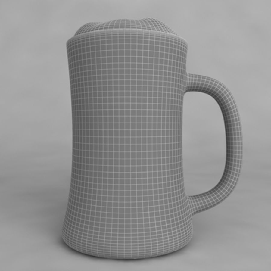 Beer Glass_09 royalty-free 3d model - Preview no. 6