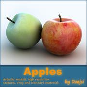 äpplen 3d model