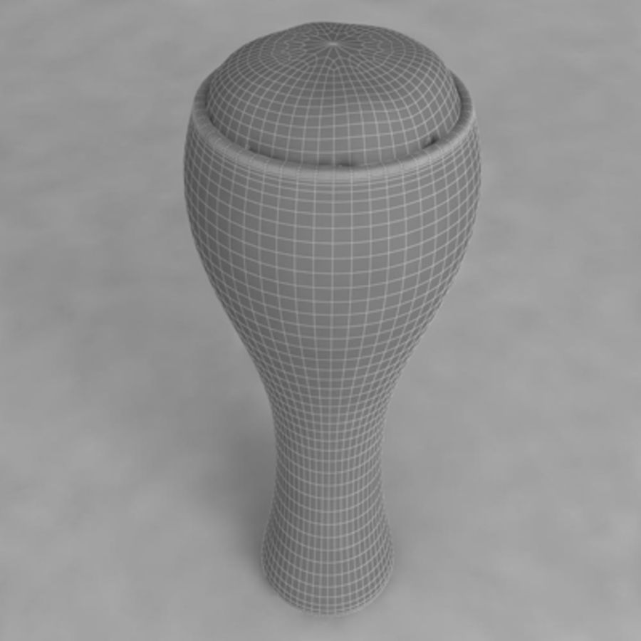 Beer Glass_06 royalty-free 3d model - Preview no. 5