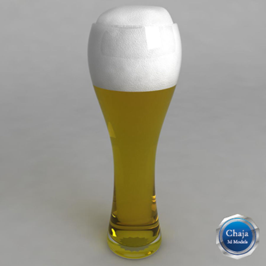 Beer Glass_06 royalty-free 3d model - Preview no. 1