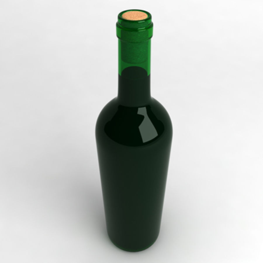 Wine Bottle_06 royalty-free 3d model - Preview no. 2