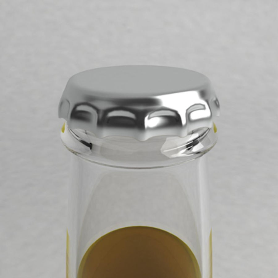 Beer Bottle 2 royalty-free 3d model - Preview no. 2