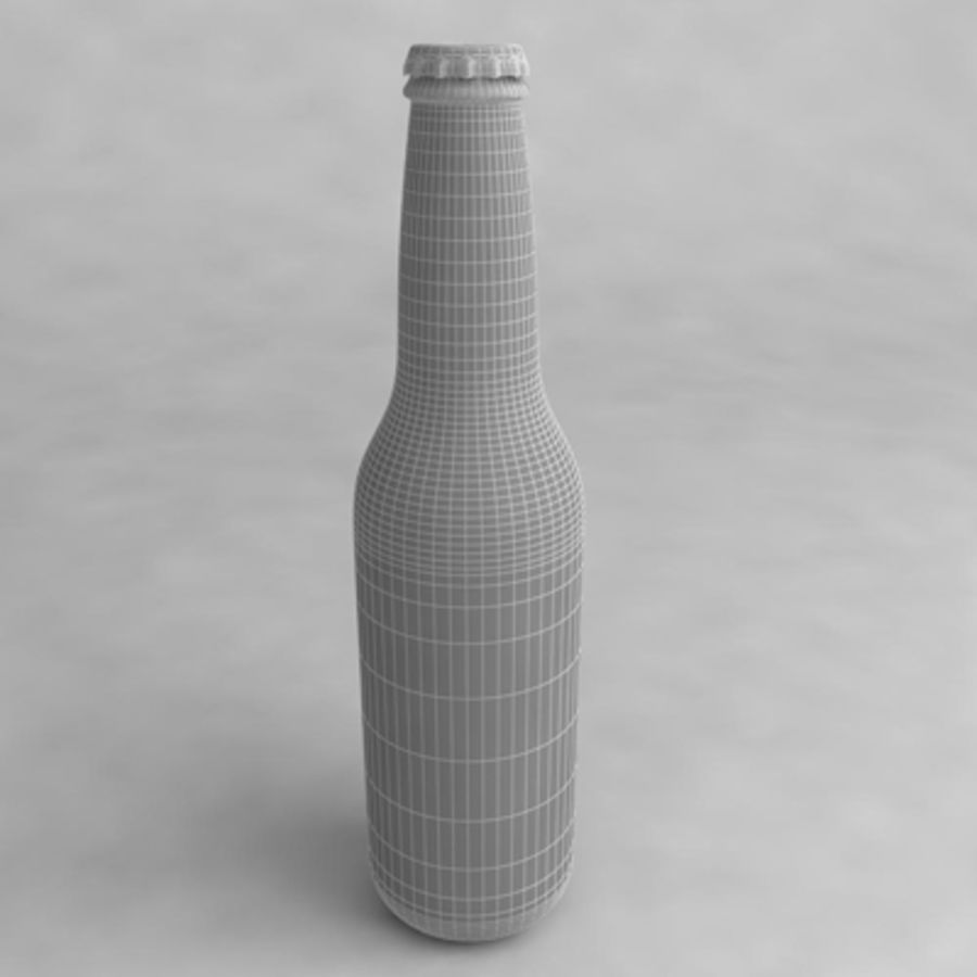 Beer Bottle 2 royalty-free 3d model - Preview no. 4
