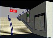 Escadas 3d model