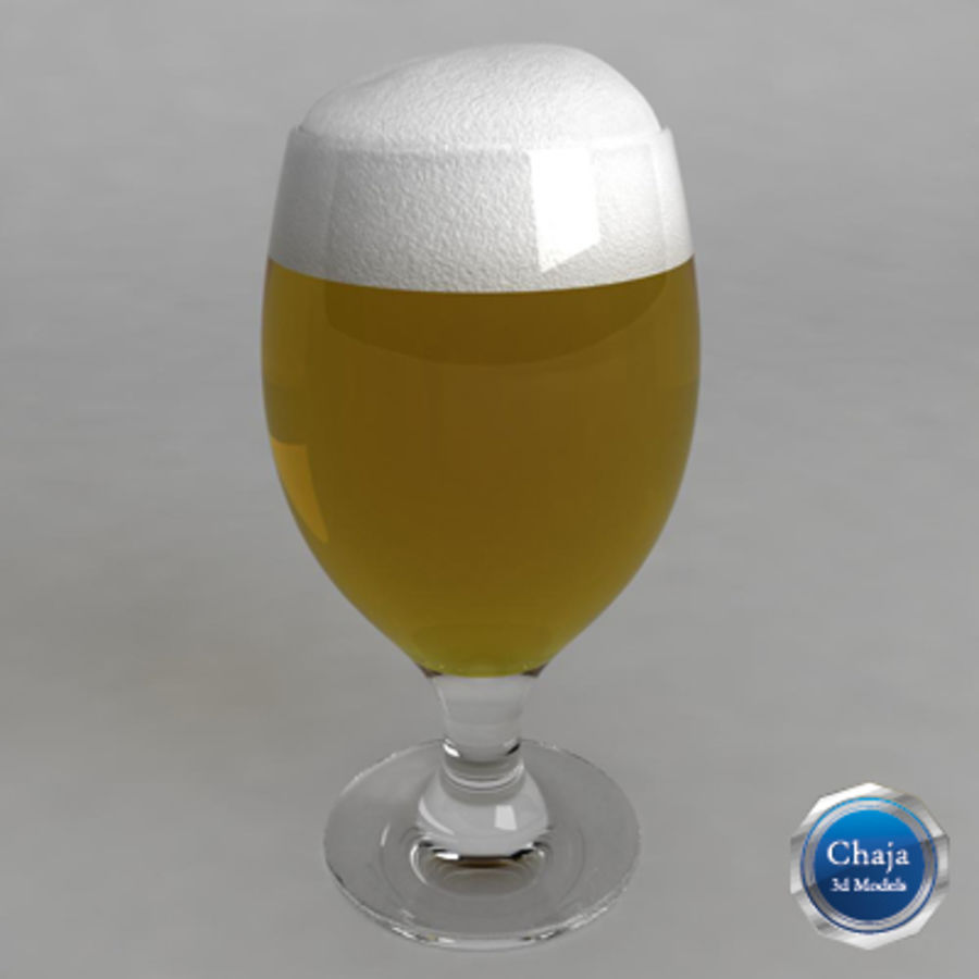 Beer Glass_08 royalty-free 3d model - Preview no. 1