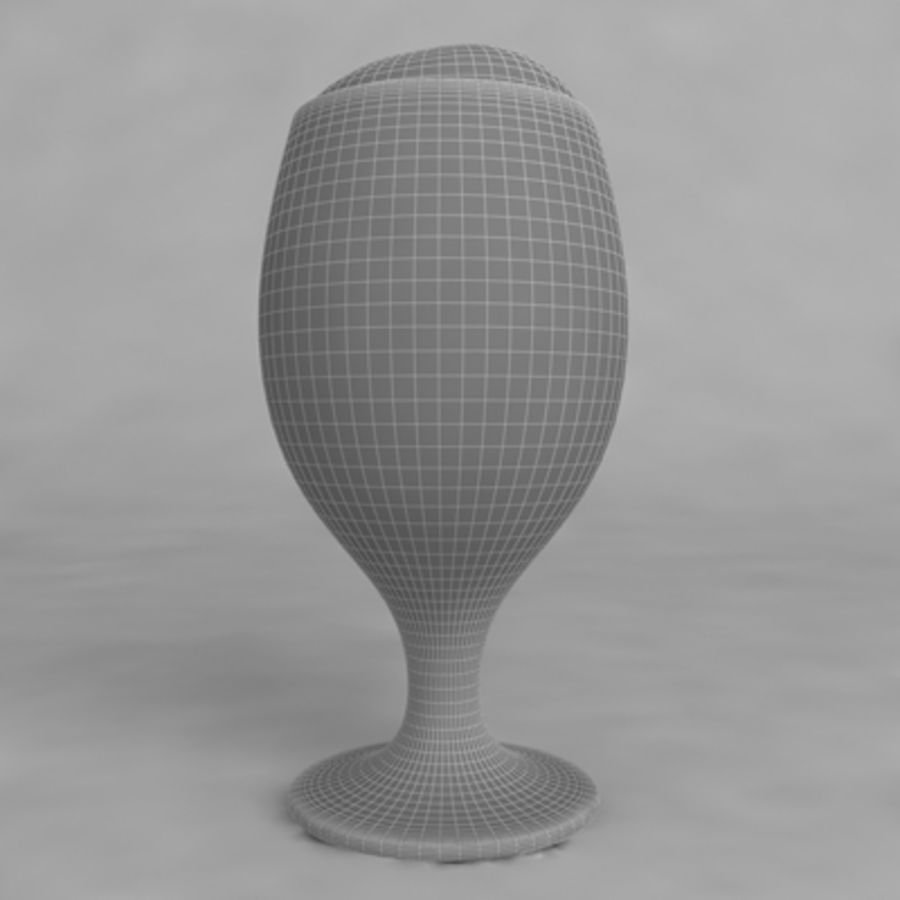 Beer Glass_08 royalty-free 3d model - Preview no. 5