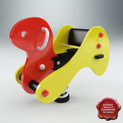Spring Swing Duck 3d model