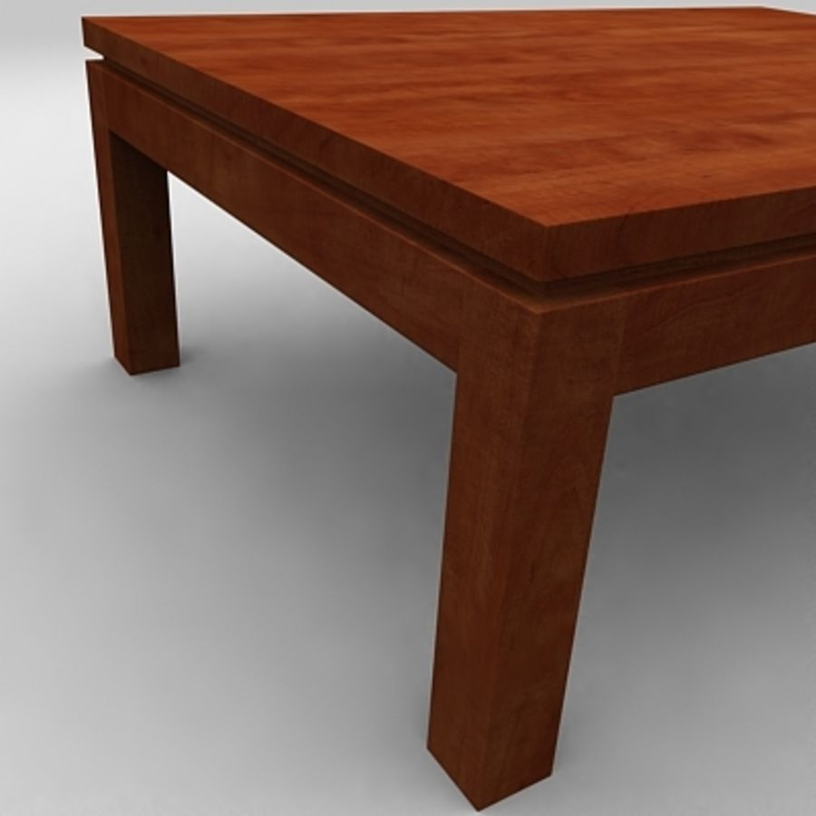 Tea table royalty-free 3d model - Preview no. 10