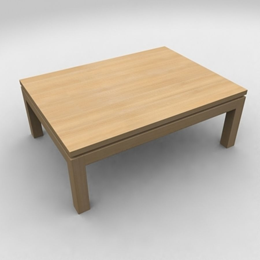 Tea table royalty-free 3d model - Preview no. 6