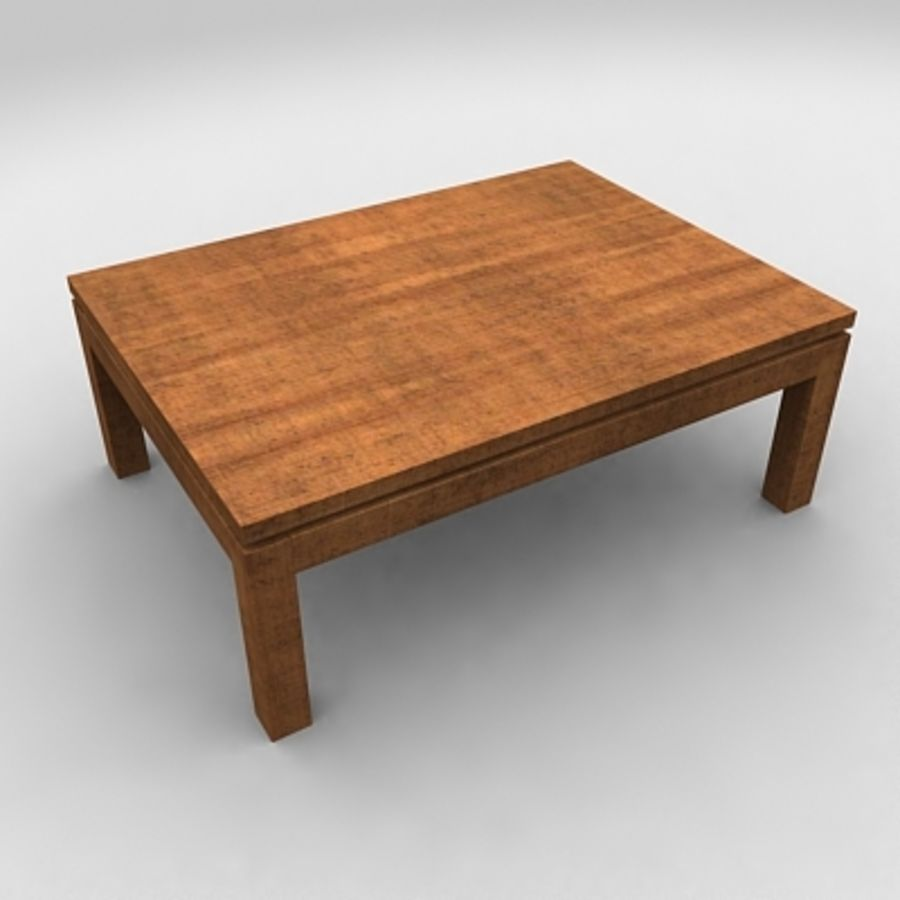 Tea table royalty-free 3d model - Preview no. 3