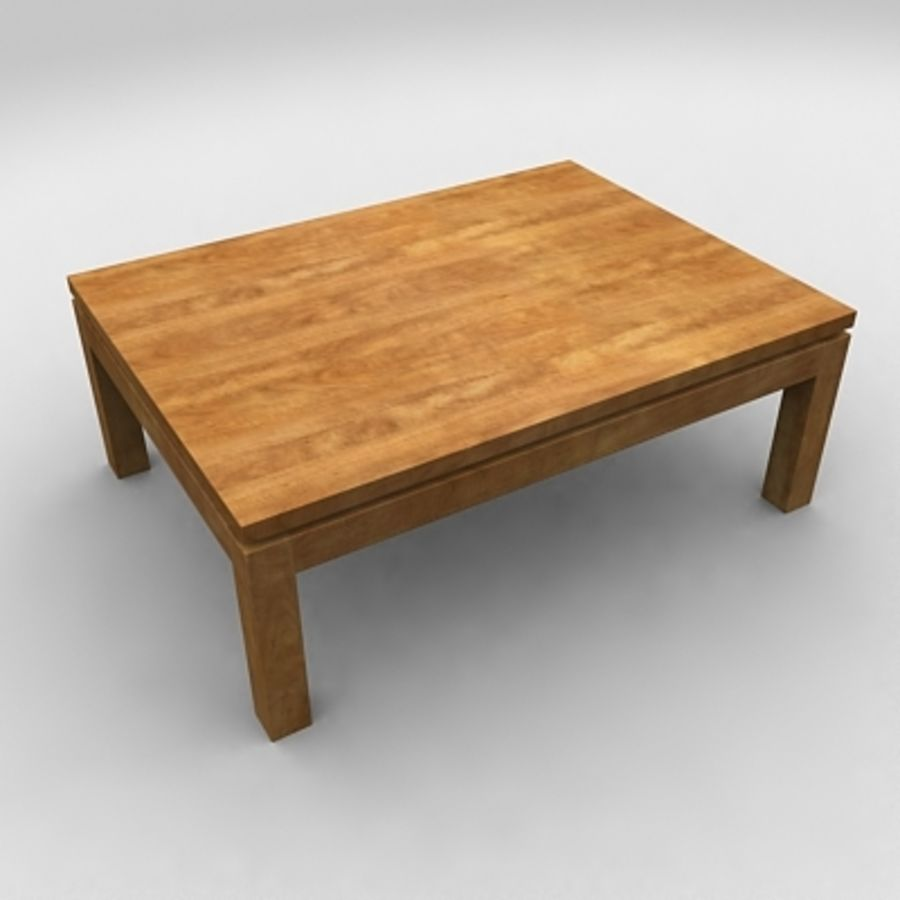 Tea table royalty-free 3d model - Preview no. 5