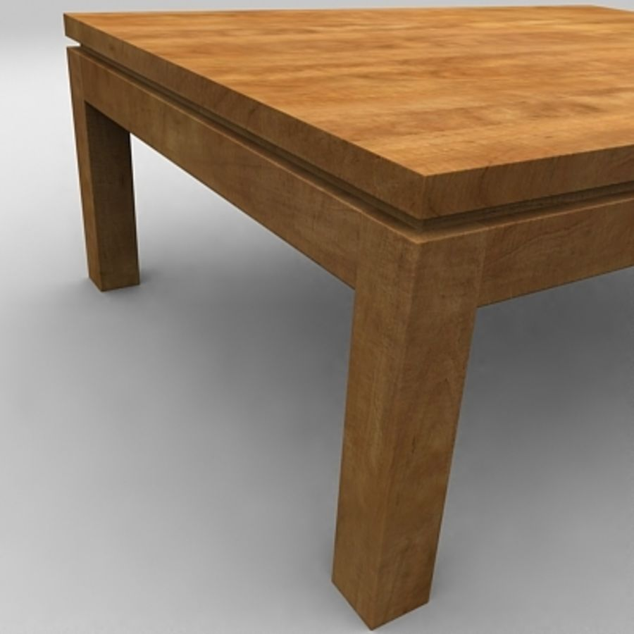Tea table royalty-free 3d model - Preview no. 11