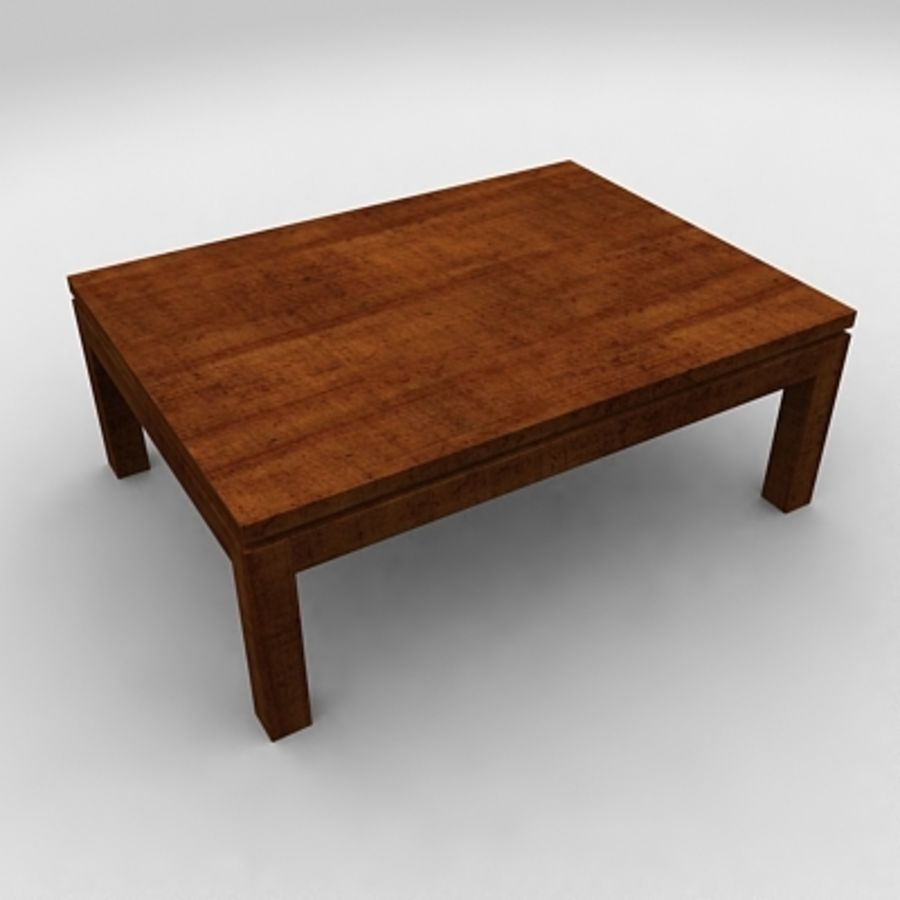 Tea table royalty-free 3d model - Preview no. 2