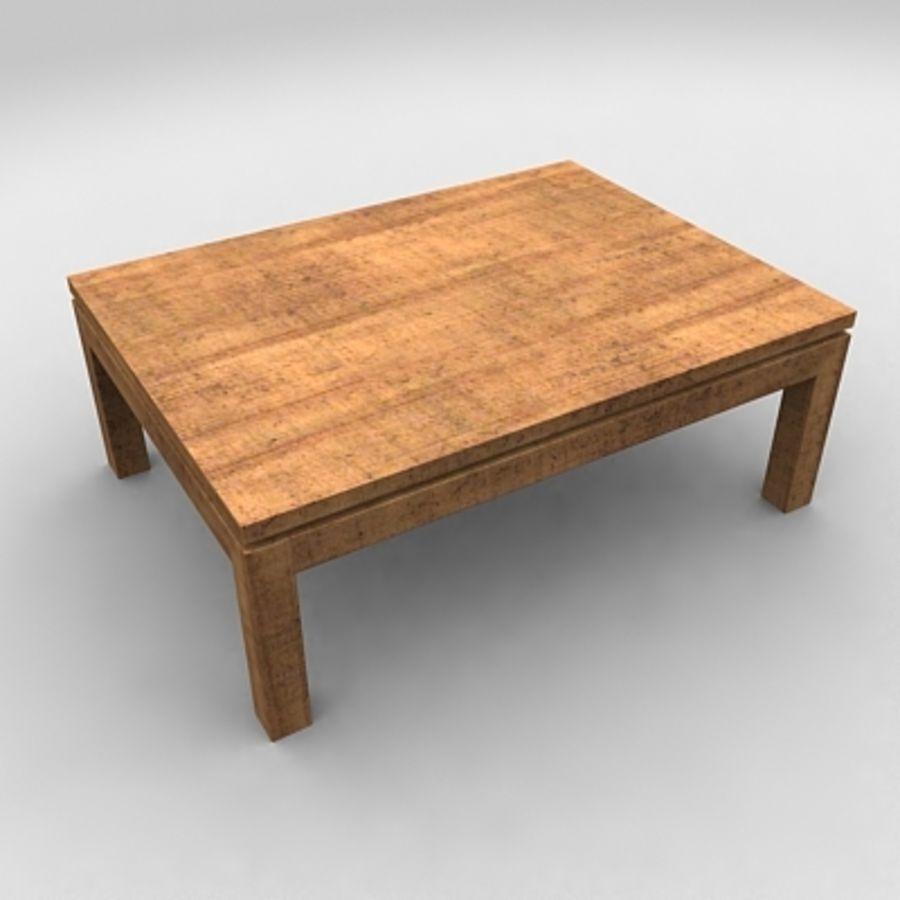 Tea table royalty-free 3d model - Preview no. 4