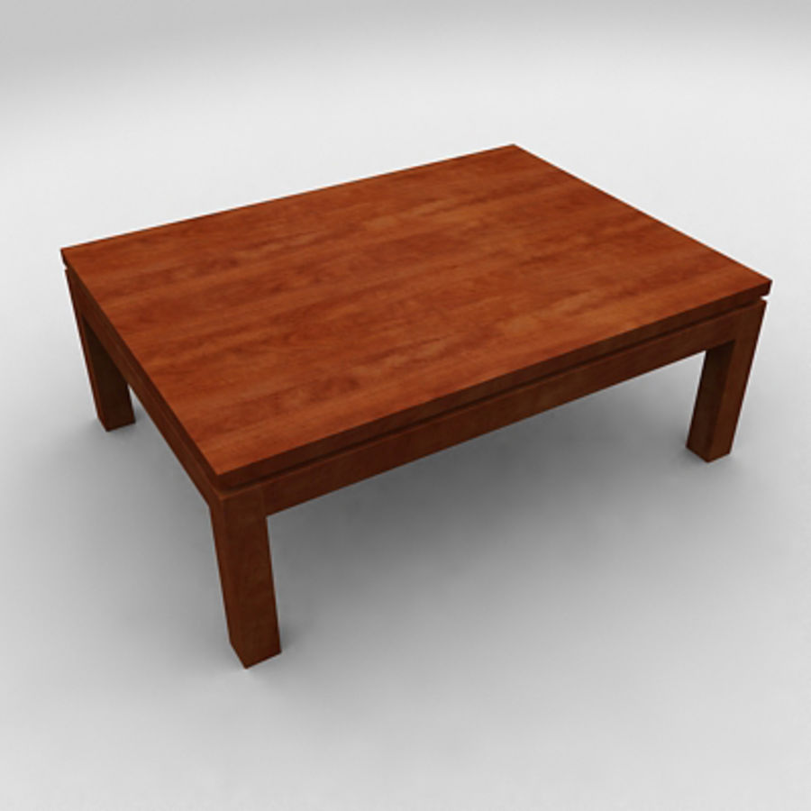 Tea table royalty-free 3d model - Preview no. 18