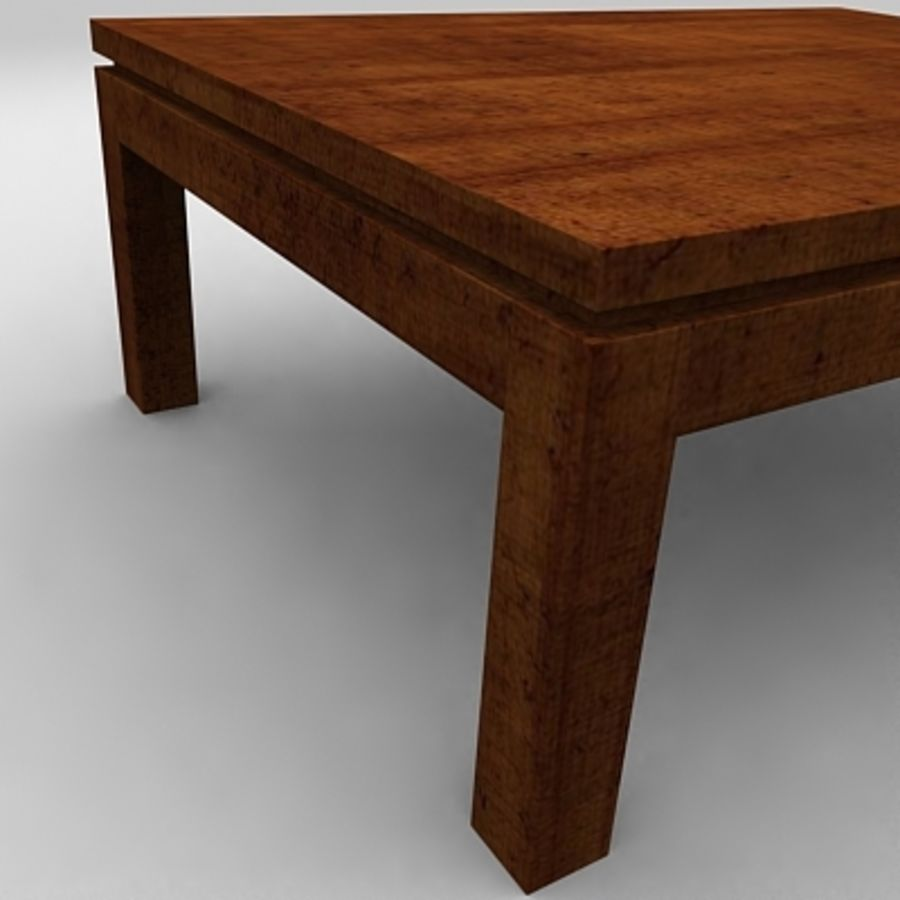 Tea table royalty-free 3d model - Preview no. 7