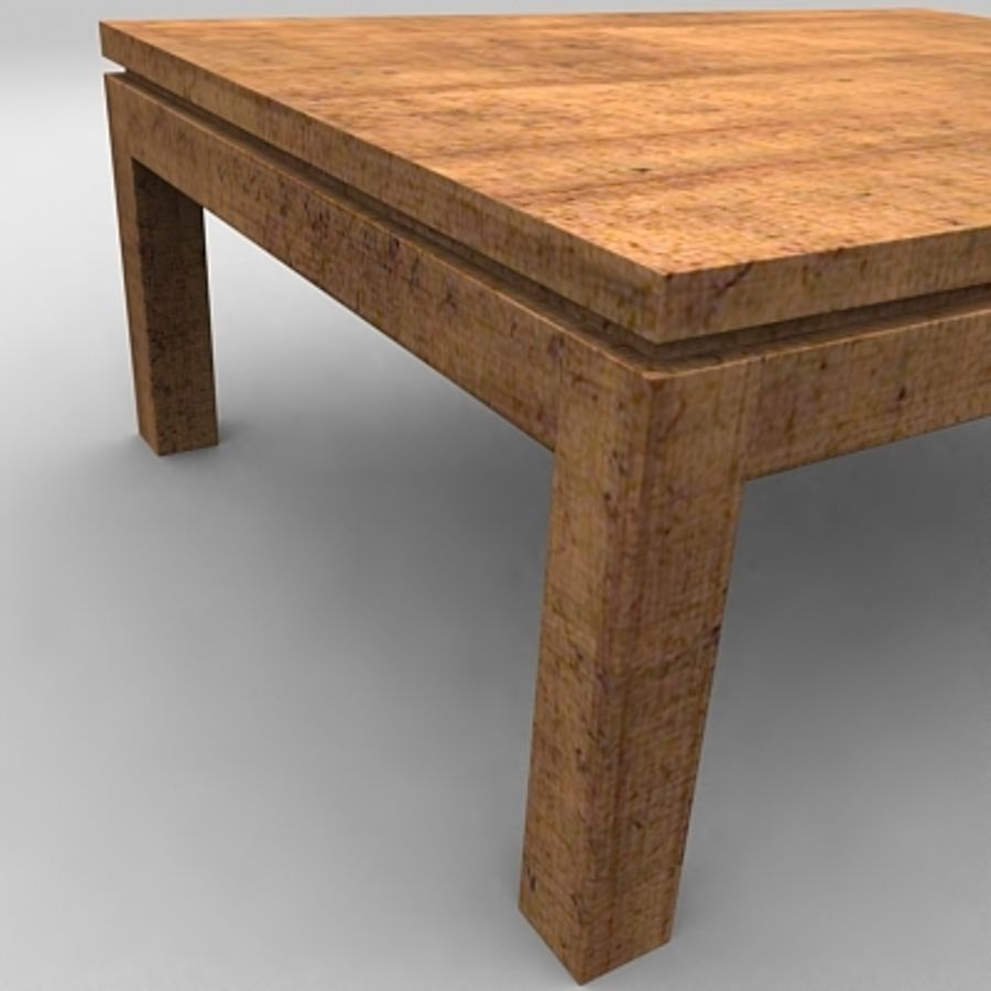 Tea table royalty-free 3d model - Preview no. 9