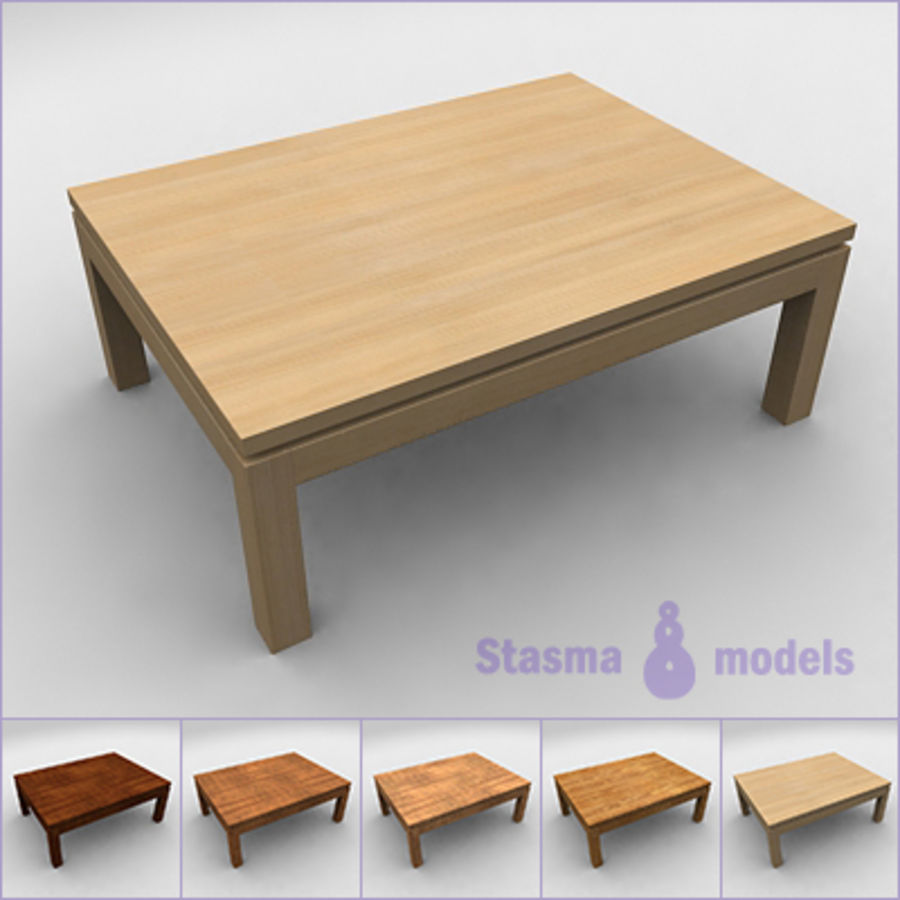 Tea table royalty-free 3d model - Preview no. 1