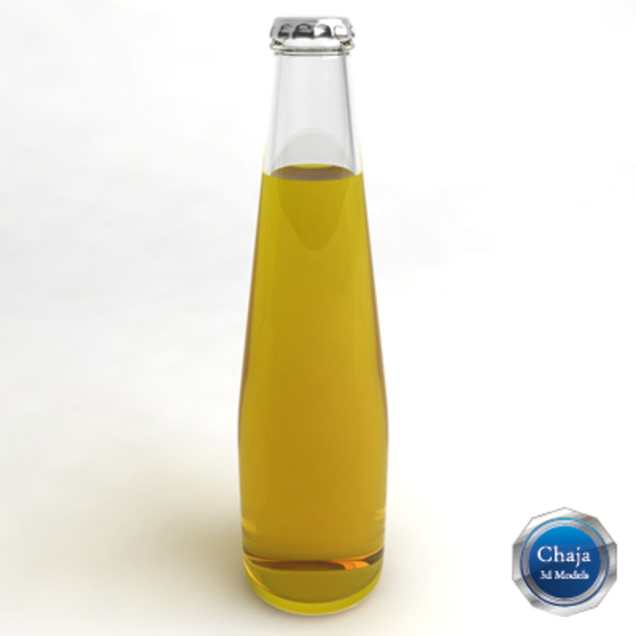 Botella de cerveza 4 royalty-free modelo 3d - Preview no. 1