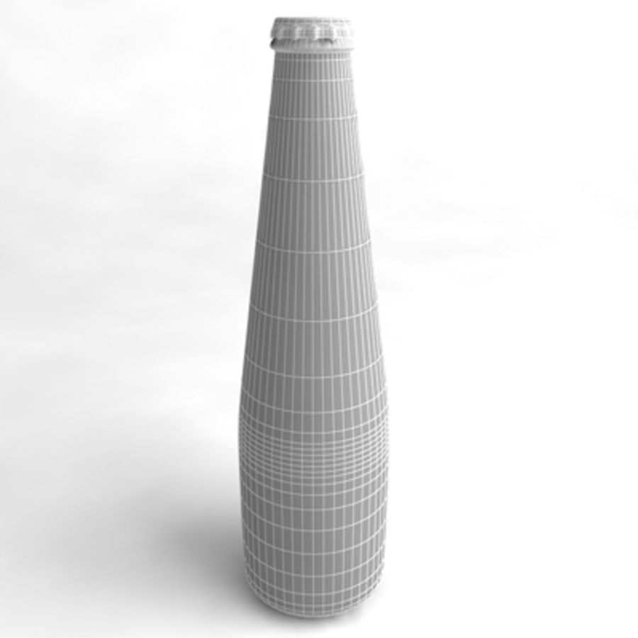 Beer Bottle 4 royalty-free 3d model - Preview no. 4