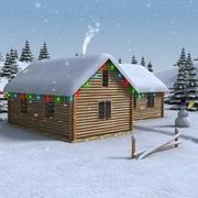 Christmas_House_01 3d model