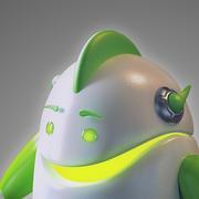 ロボット -  Android 3d model