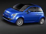 fiat 500 2009 3d model