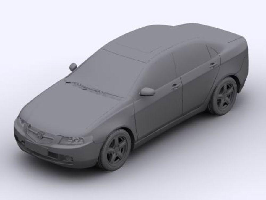 Honda Accord 2004 royalty-free 3d model - Preview no. 6