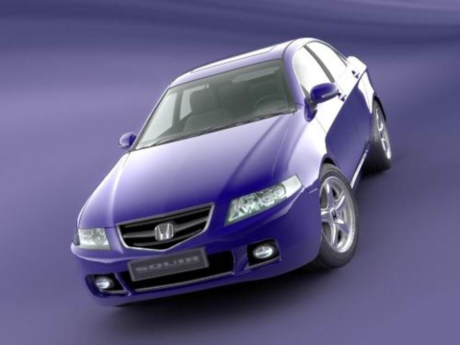 Honda Accord 2004 royalty-free 3d model - Preview no. 4