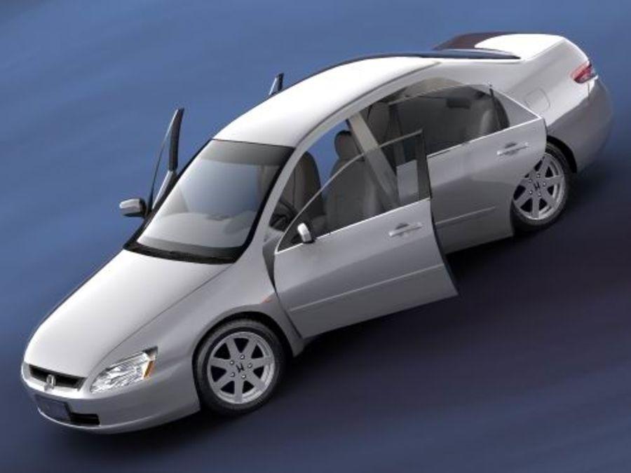 Honda Accord USA 2003 royalty-free 3d model - Preview no. 4