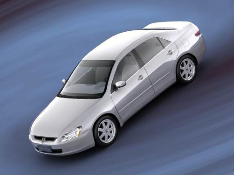 Honda Accord USA 2003 royalty-free 3d model - Preview no. 3