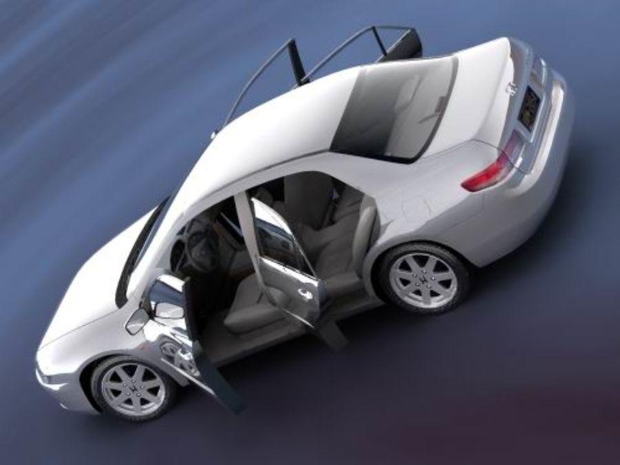 Honda Accord USA 2003 royalty-free 3d model - Preview no. 1