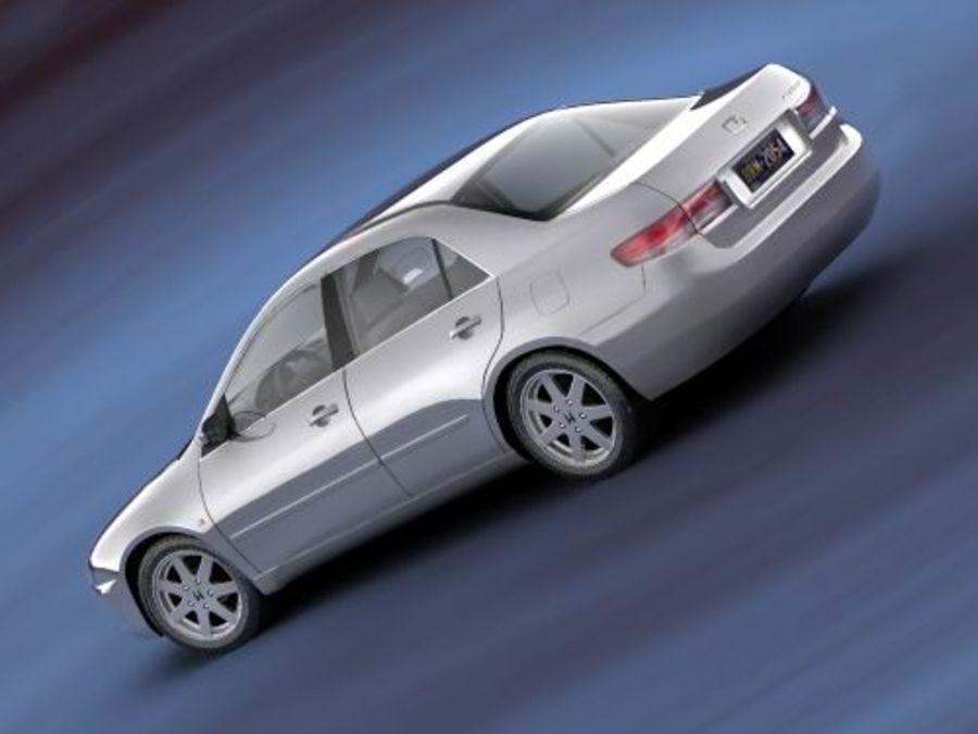 Honda Accord USA 2003 royalty-free 3d model - Preview no. 5