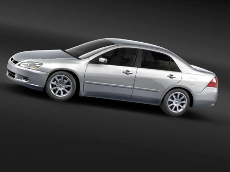 Honda Accord USA 2006 royalty-free 3d model - Preview no. 1