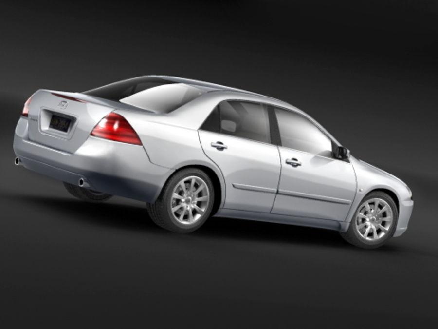 Honda Accord USA 2006 royalty-free 3d model - Preview no. 3