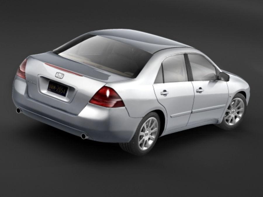 Honda Accord USA 2006 royalty-free 3d model - Preview no. 4