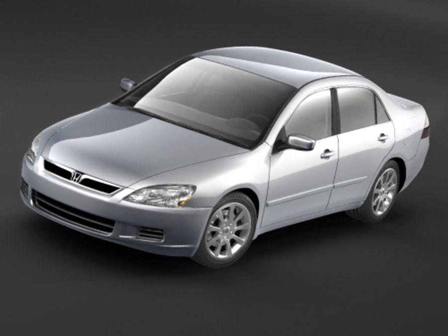 Honda Accord USA 2006 royalty-free 3d model - Preview no. 2