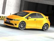 Honda Civic Type-R 2007-2010 3d model