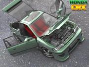 Honda CRX 1988-1991 3d model